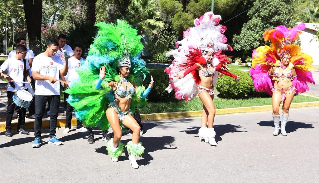 San Juan: Se presentó una nueva edición del Carnaval chimbero