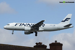 OH-LXM - 2154 - Finnair - Airbus A320-214 - Heathrow - 170402 - Steven Gray - IMG_1574