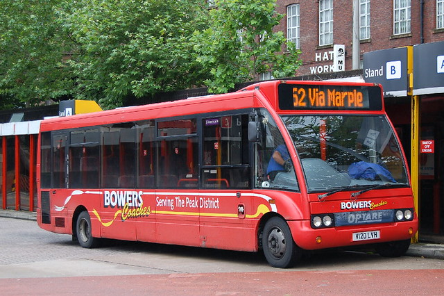 Bowers Coaches Optare Solo 368 V120LVH - Stockport