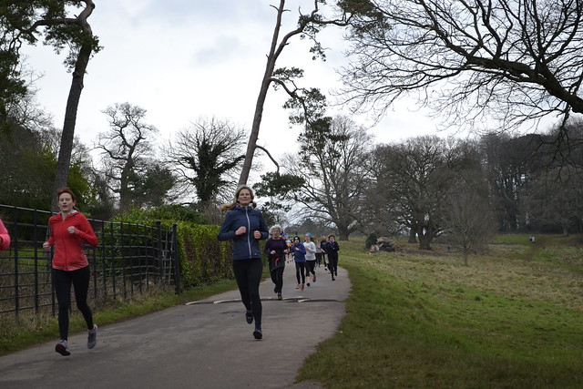 Ashton Court Park Run - MAS - 13/01/18