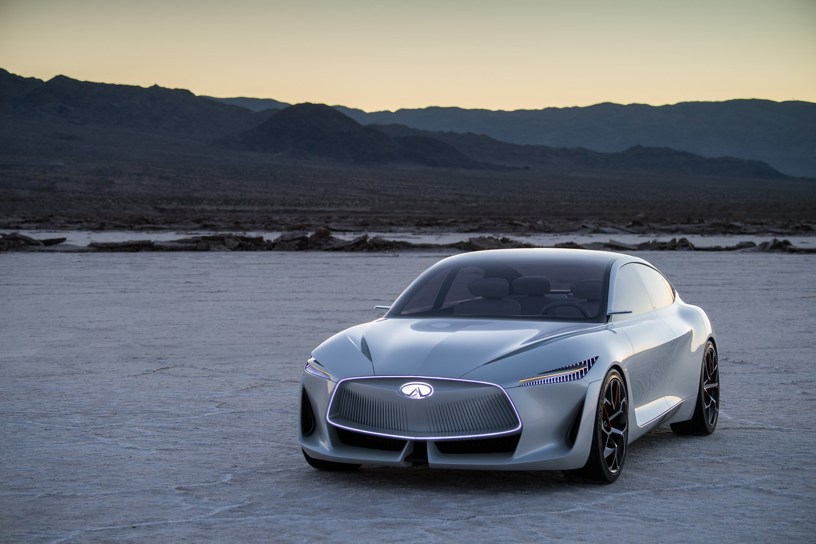 Infiniti reveals new form language for an era of advanced powertrains