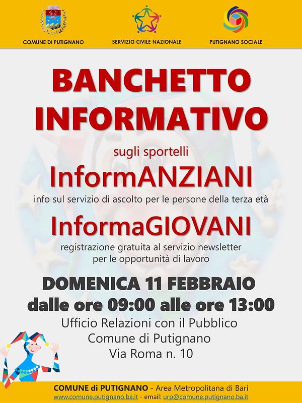 Locandina Banchetto Servizio Civile-1