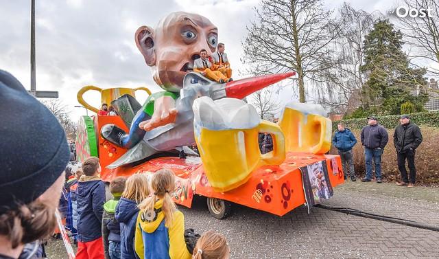 Carnavalsoptocht in Heeten 2018