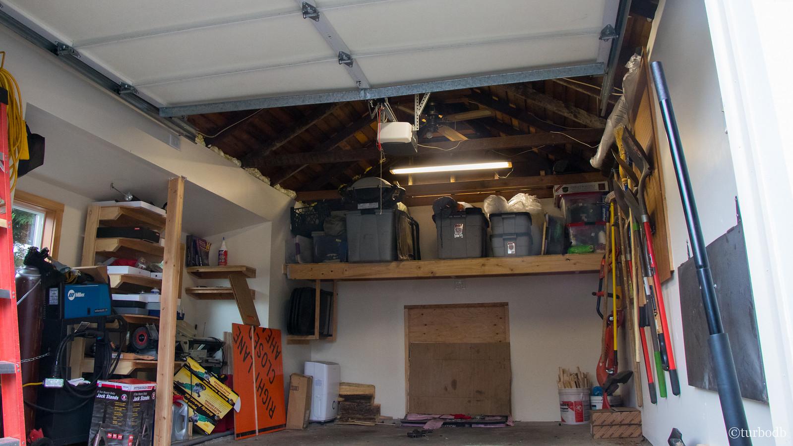 Garage Hoist - Winter Weight Loss for AdventureTaco