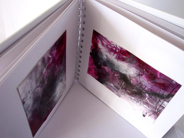magenta abstract 10