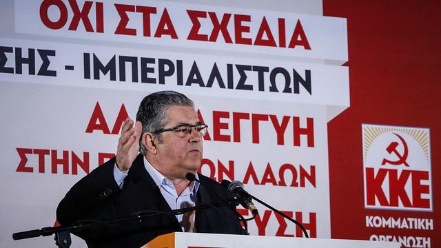 KKE Rally, Syntagma Sq, 28.02.2018