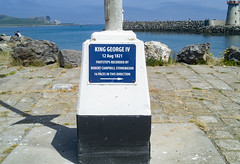 FAMOUS FOOTPRINTS IN HOWTH [KING GEORGE IV]-135945