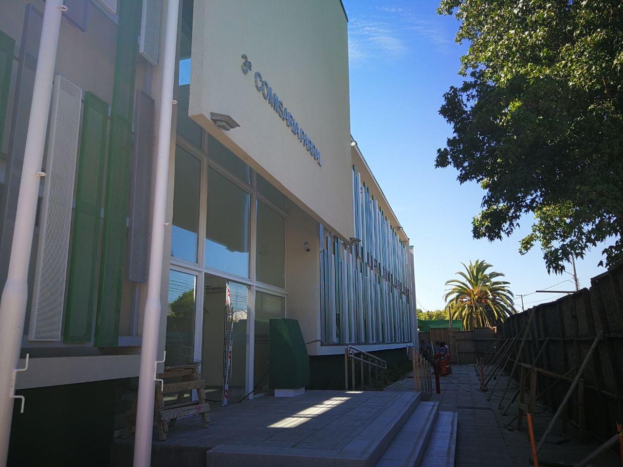 PARRAL; Realizan Visita Inspectiva a obras de Nueva Comisario para Carabineros