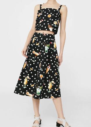 mango cocktail skirt set @porcelinasworld