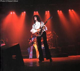 Queen live @ Detroit - 1976
