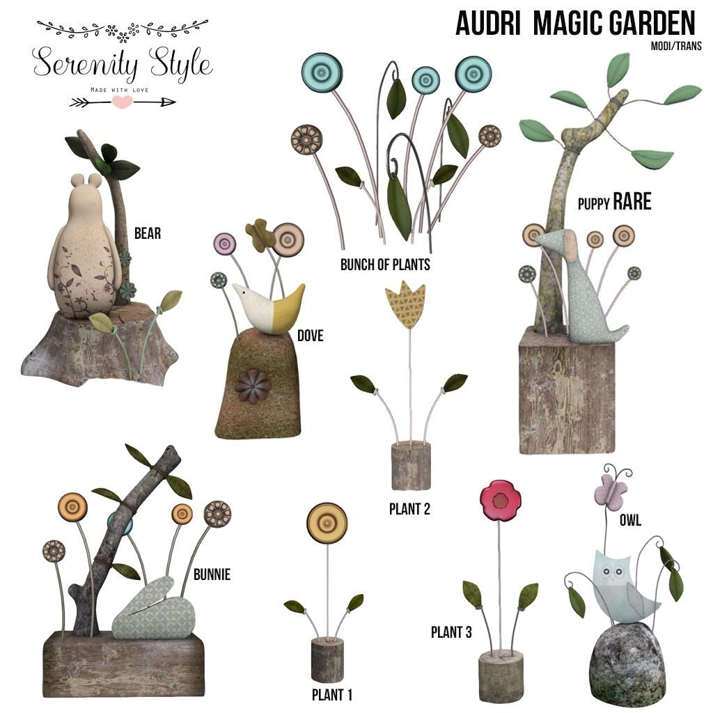 Serenity Style- Audri Magic Garden