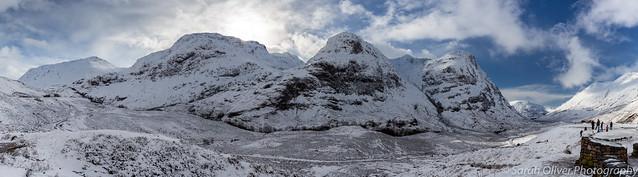 The Three Sisters Mountains, Glencoe