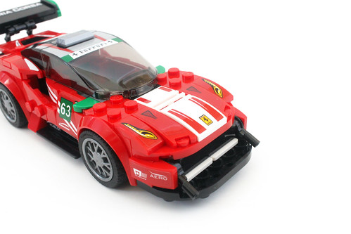 lego speed champions ferrari 488 gt3 scuderia corsa 75886 review the brick fan. Black Bedroom Furniture Sets. Home Design Ideas