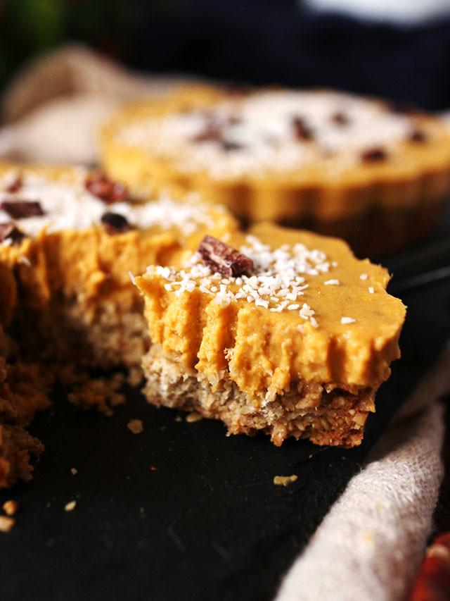 迷你椰香南瓜派 (全素,無麵粉,無堅果) mini-coconut-pumpkin-pie (5)