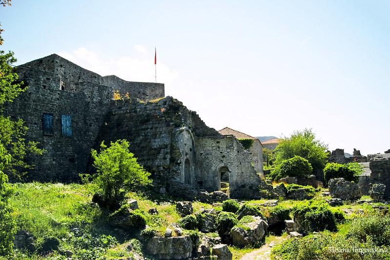 Архитектура в верхней части Старого Бара