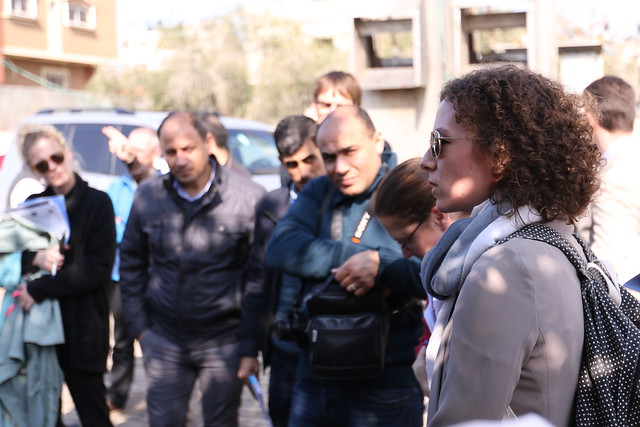 بلدية غزة تطلع وفدا من المانحين الأوروبيين على أوضاع المياه والصرف الصحي (62), Canon EOS 7D MARK II, Canon EF 16-35mm f/2.8L II