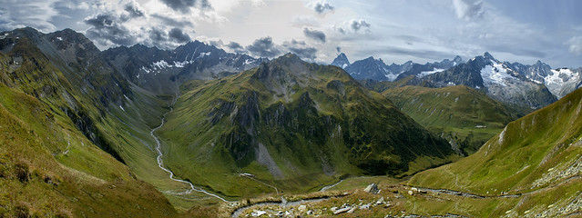 My Alpine Paradise : Plan de La Chaux and the Massif of Mont Blanc. Izakigur :  06.09.10, 15:23:43 .