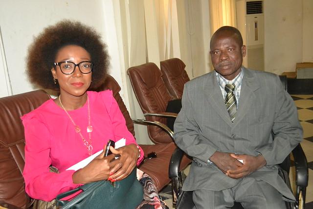 Conference de presse Afric et la CCIAMA Tchad.
