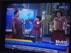 Mereka keren, Nonaria. Referensi baru, :grin: . #nonaria #netmediatama #nettv #indonesiamorningshow