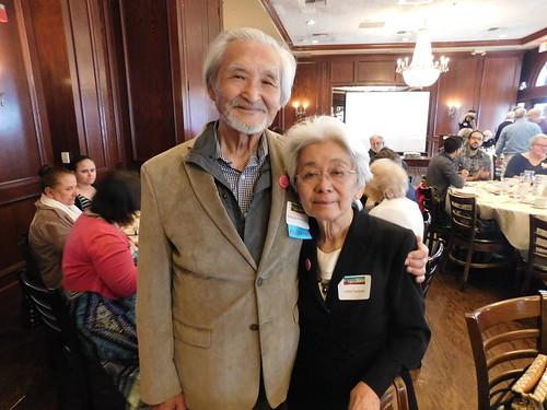 Nobuyuki ('61) and Irene Hadeishi