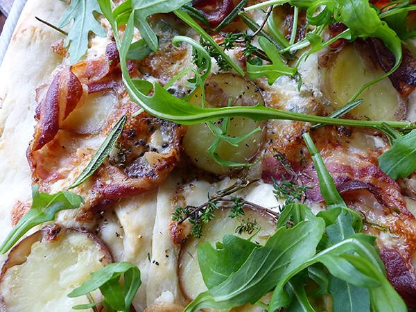 pancetta artigianale focacccia