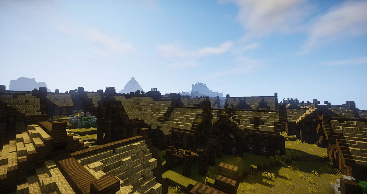 Minecraft Middle Earth By @mcmiddleearth: Edoras – Capital City Of Rohan