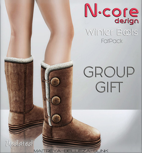 "N-core ""Winter Boots"" January GROUP GIFT! (Updated)"