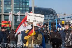 """Neonazi-Aufmarsch """"Nein zur GroKo"""""""
