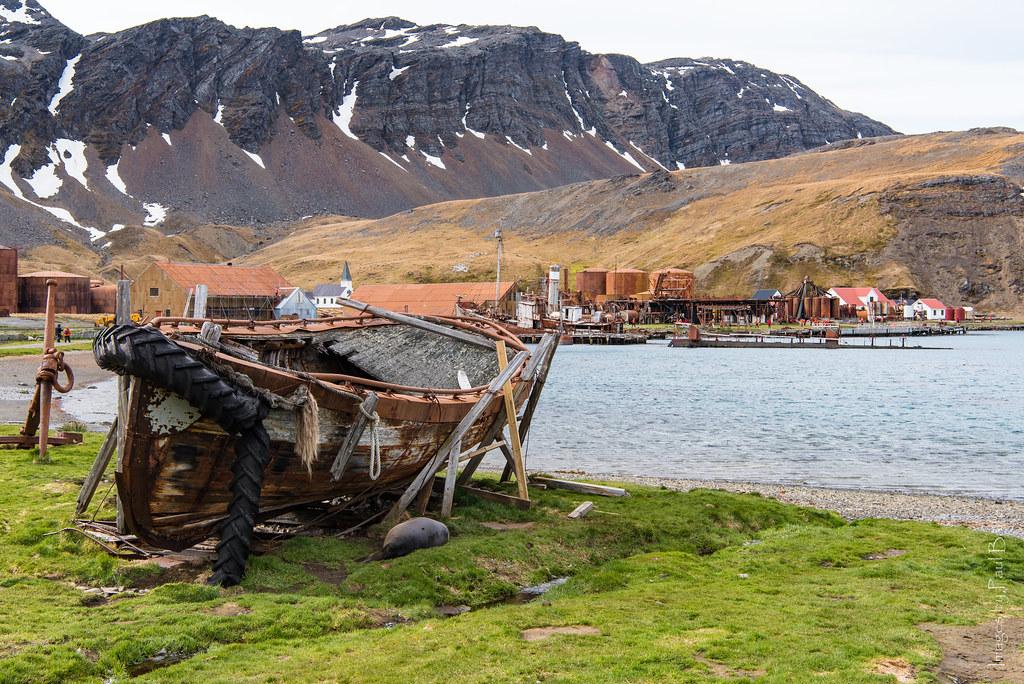 Whaling relics - Grytviken