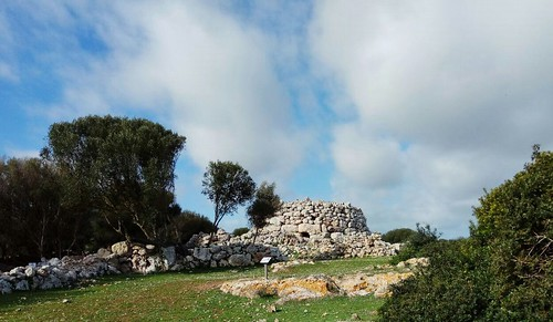 Poblat talaiòtic de St. Agustì nou, Es Migjorn Gran, Menorca