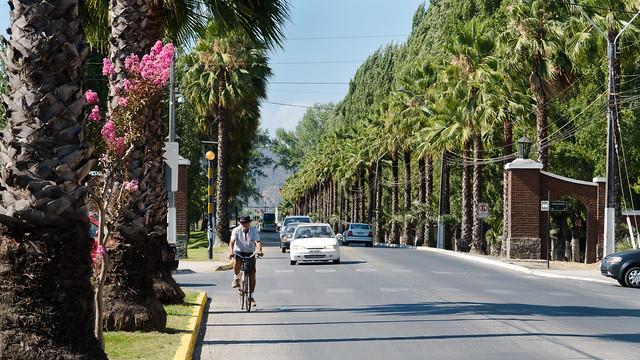 Einfahrt San Vicente