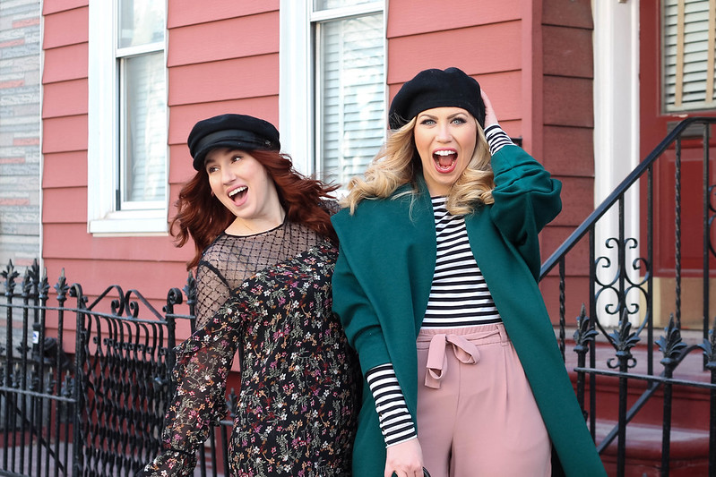Fun Photoshoot Blogger Besties New York Street Style Outfit Inspiration