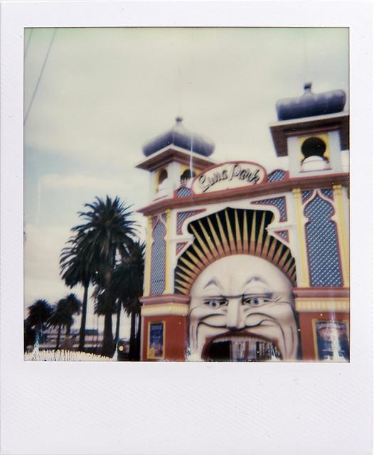 Luna Park, St Kilda - Polaroid