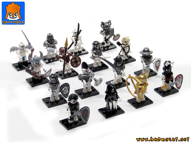 CUSTOM MINIFIG COLLECTIBLE SERIE
