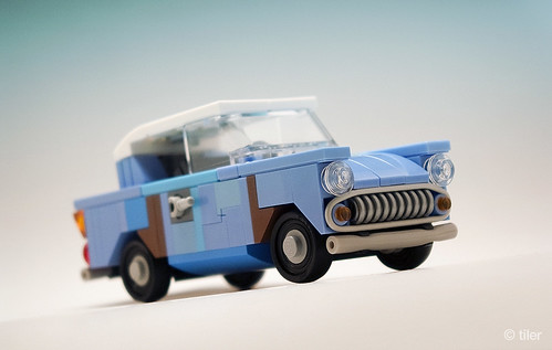 Harry Potter flying Ford Anglia 105E (junk version) _05