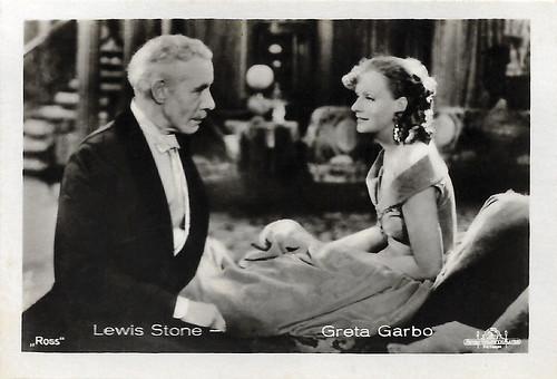 Greta Garbo and Lewis Stone in Romance (1930)