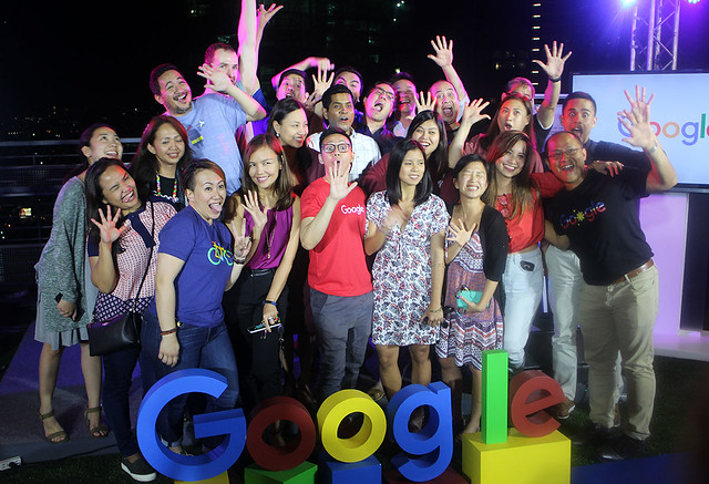 Google Philippines Anniversary Duane Bacon Group Photo Staff