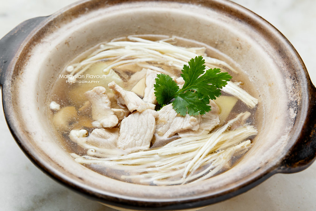 pork and chicken spicy soup