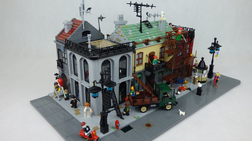 Small town scene