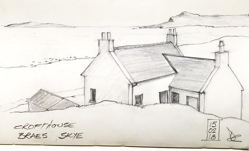 Crofthouse - Braes, Skye