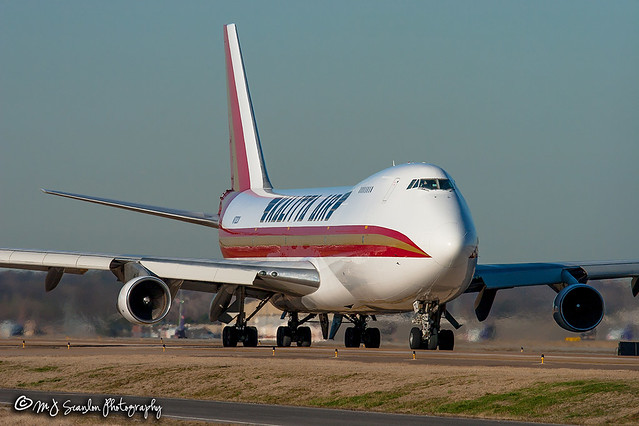 N712CK Kalitta Air | Boeing 747-122(SF) | Memphis International Airport