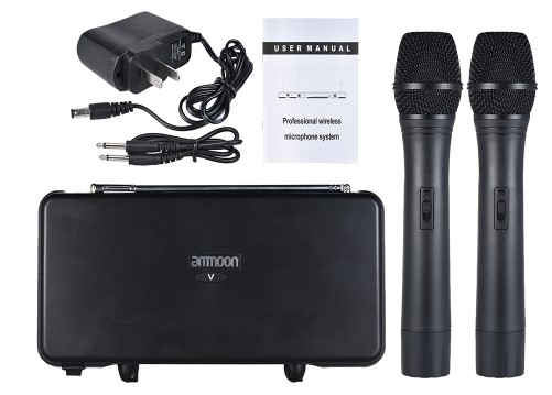 ammoon VHF Wireless Microphone System (8)