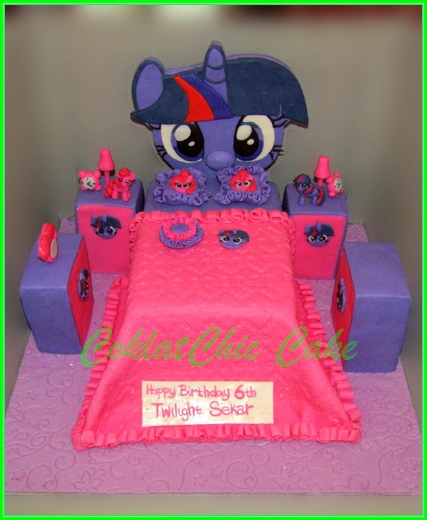 cake bedroom My Little Pony SEKAR 15 cm