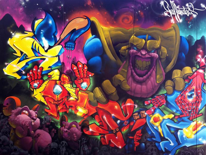 GFX Marvel (NELS & Mr CHAPU 1