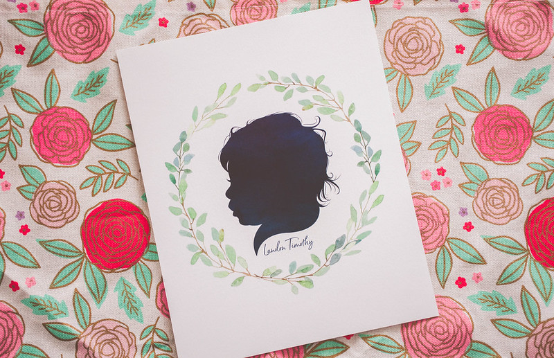 Dapper and Darling - Custom Silhouette Print - 5 Tips for Personalizing Your Home with Unique Art
