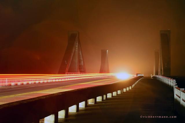 Mehaffey Bridge Fog