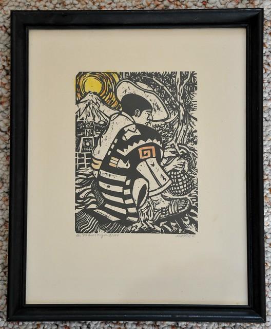 Mexican Man Print Art Mamaya