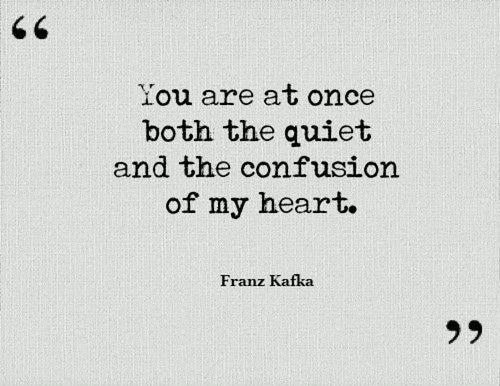 Life Quotes You Are At Once Both The Quiet And The Confu Flickr