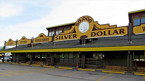 Silver Dollar Bar bar front