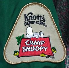 Camp Snoopy Patch